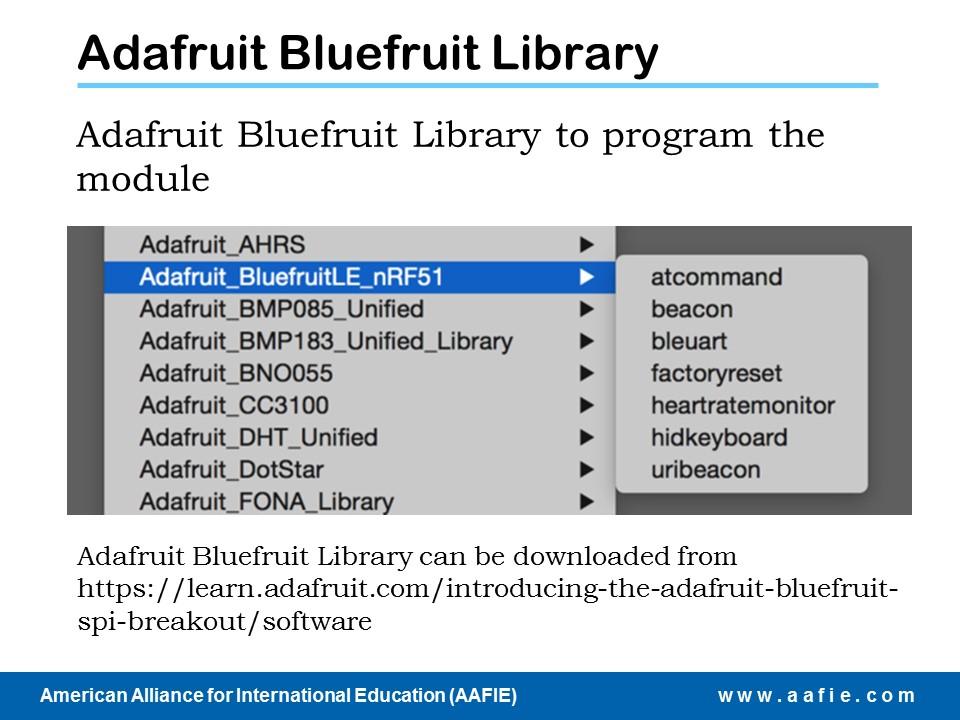 Bluetooth and RCV - AAFIE Global Course Hub